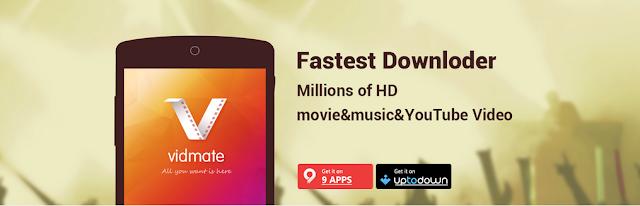 تطبيق مهم لتحميل الأغاني و الفيديو و الأفلام من اي موقع بسرعة Vidmate