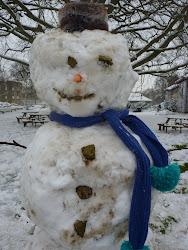 Cecil (St Cecilia's House) the Snowman