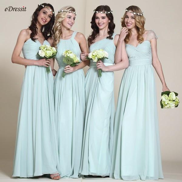 aprildress: Für Sommer Hochzeit wählen grüne Brautjungfer Kleider ...