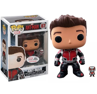 "Marvel Collector Corps Exclusive ""Unmasked"" Ant-Man Movie Pop! Vinyl Figure by Funko"