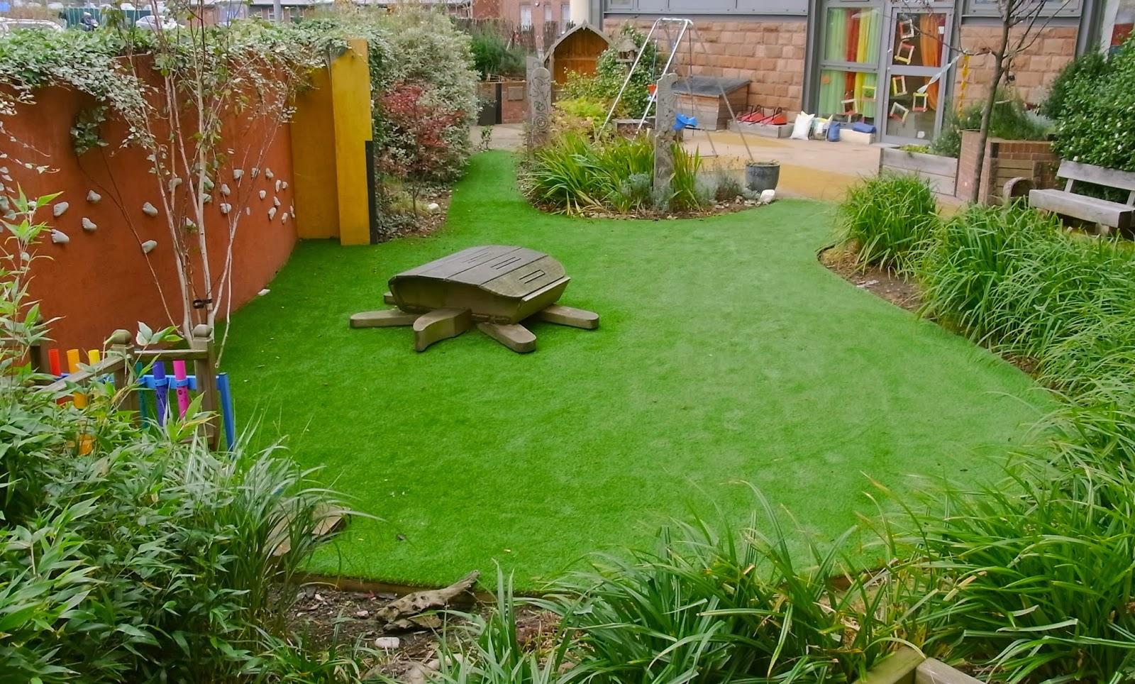 Foundation dezin decor artificial grass for Patios y jardines fotos