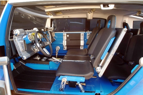 Toyota Fj Cruiser 2015 Blue Custom Interior Design