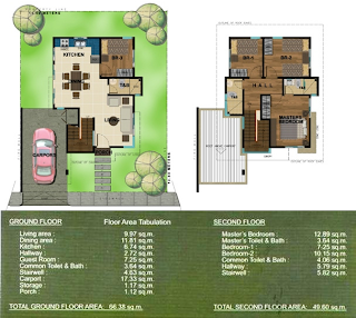 Bambu Estate Maki House Model Floor Plan