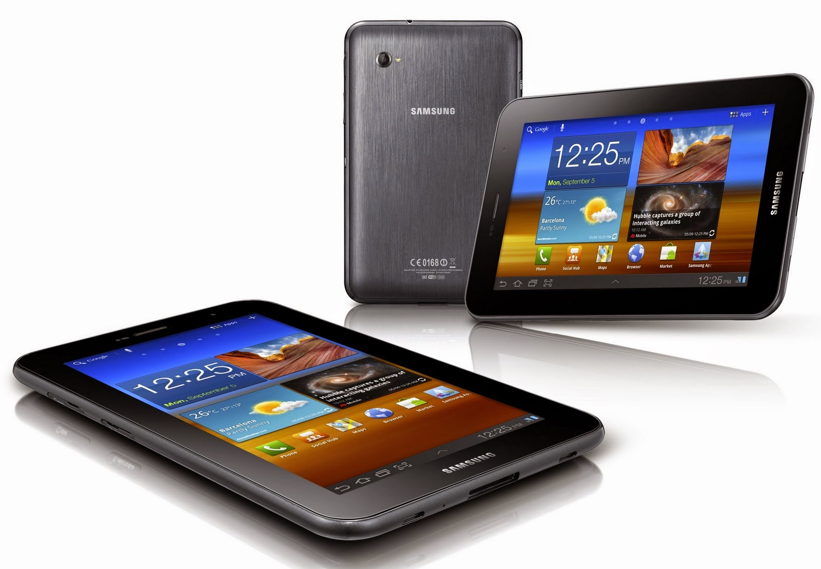 Harga Samsung Galaxy Tab 7 P-6200 Terbaru, Android HoneyComb