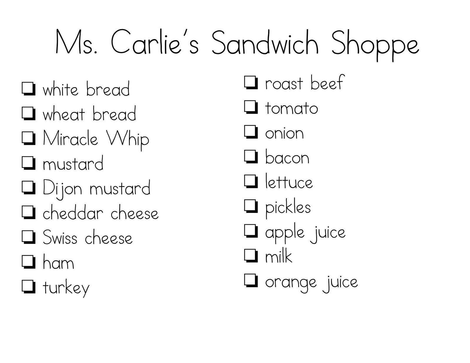 sandwich order form template - Heart.impulsar.co