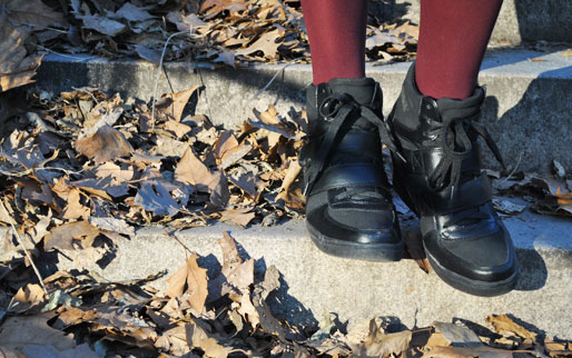 a style of your own blog, mollie booth parks, central park, fashion blog, outfit shoot, sneaker wedges
