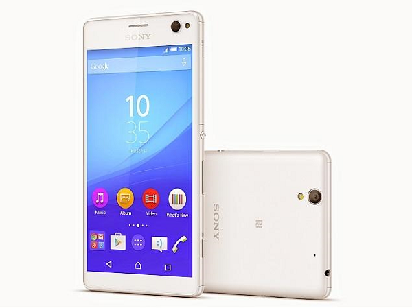 Sony Xperia C4 Specs, Price and Availability