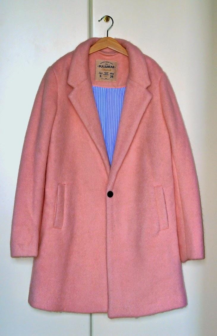 Saldi Inverno Gennaio 2015 Sale Finds cappotto rosa pull&bear Pull and Bear Oversize Boyfriend Pink Coat Cappotto Boyfriend Rosa Cipria TheSparklingCinnamon