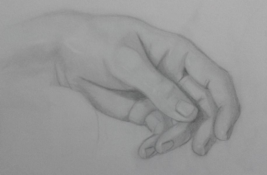 mano de la piedad de miguel angel