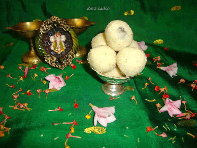 photo of Rava/Sooji/Semolina Ladoo/Rava Ladoo Recipe / Sooji Ladoo Recipe / Semolina Ladoo Recipe