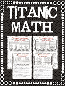 http://www.teacherspayteachers.com/Product/FREE-Titanic-Math-661324
