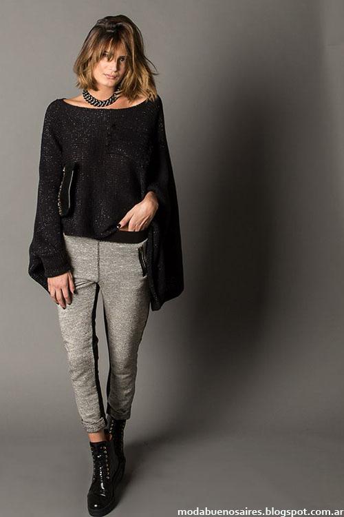 Sweaters invierno 2015 ropa de mujer Marcela Pagella.