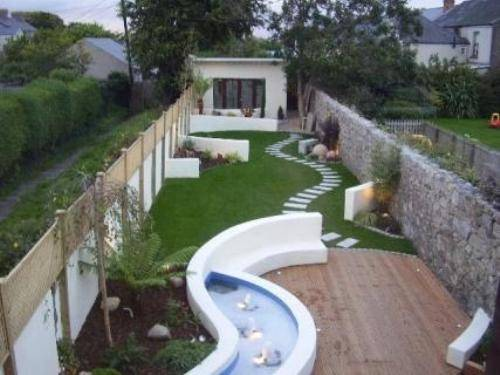 Garden Design Small Size Designed For The Narrow Places