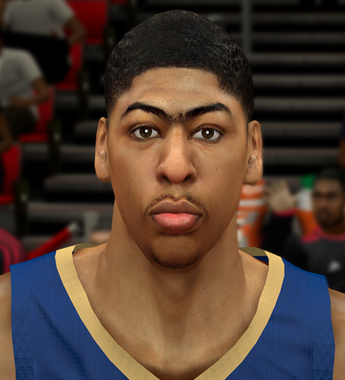 NBA 2K14 Anthony Davis Face Mod
