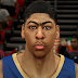 NBA 2K14 Anthony Davis Cyber Face