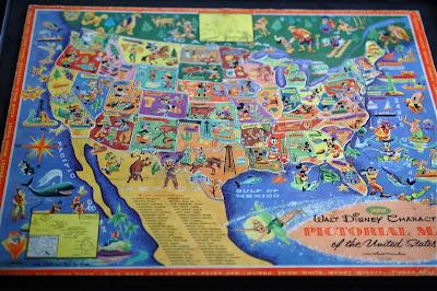 Walt Disney United States Character Map Living A Disney Lifeliving