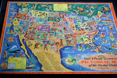 Also, Disneyland Is Very Prominently Displayed In California, And There Is  No Indication Of Walt Disney World In Florida, So It Was Very Likely Before  1971.