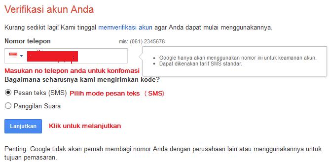 cara membuat email 3