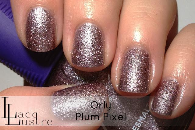 Orly Plum Pixel swatch