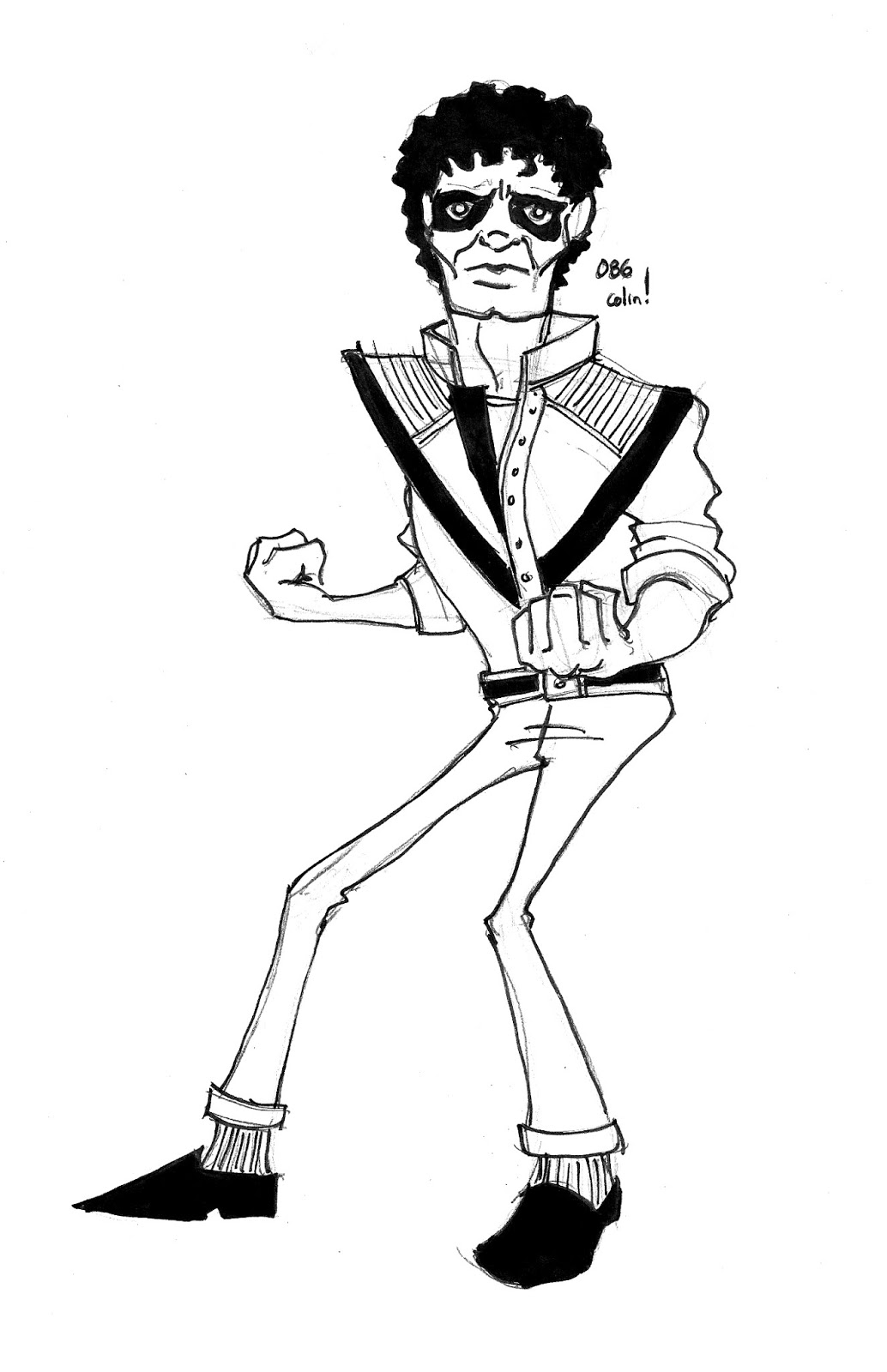 Moonwalker coloring pages coloring m coloring pages for Michael jackson smooth criminal coloring pages