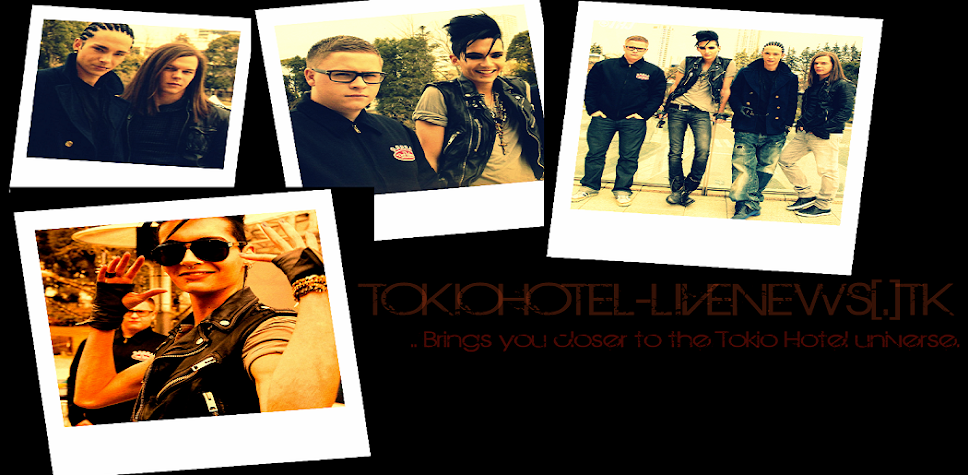 Tokio Hotel; LIVE NEWS!