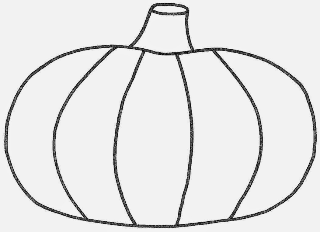 Pictures Of Pumpkins To Color