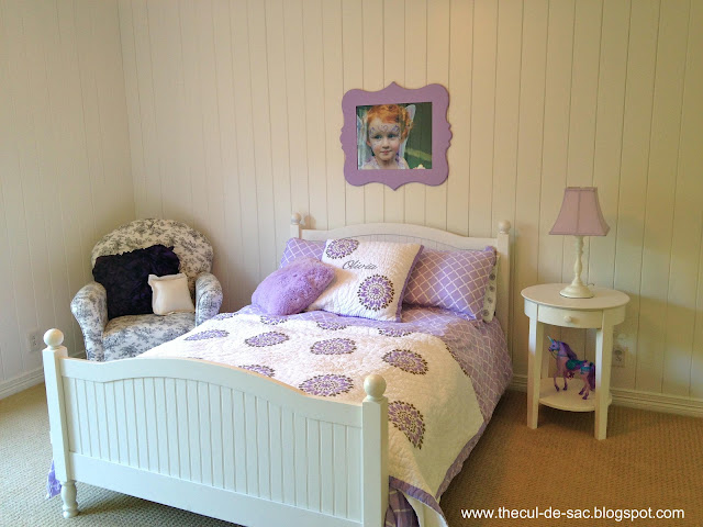 the cul-de-sac: Girl's Bedroom Transformation, Part I