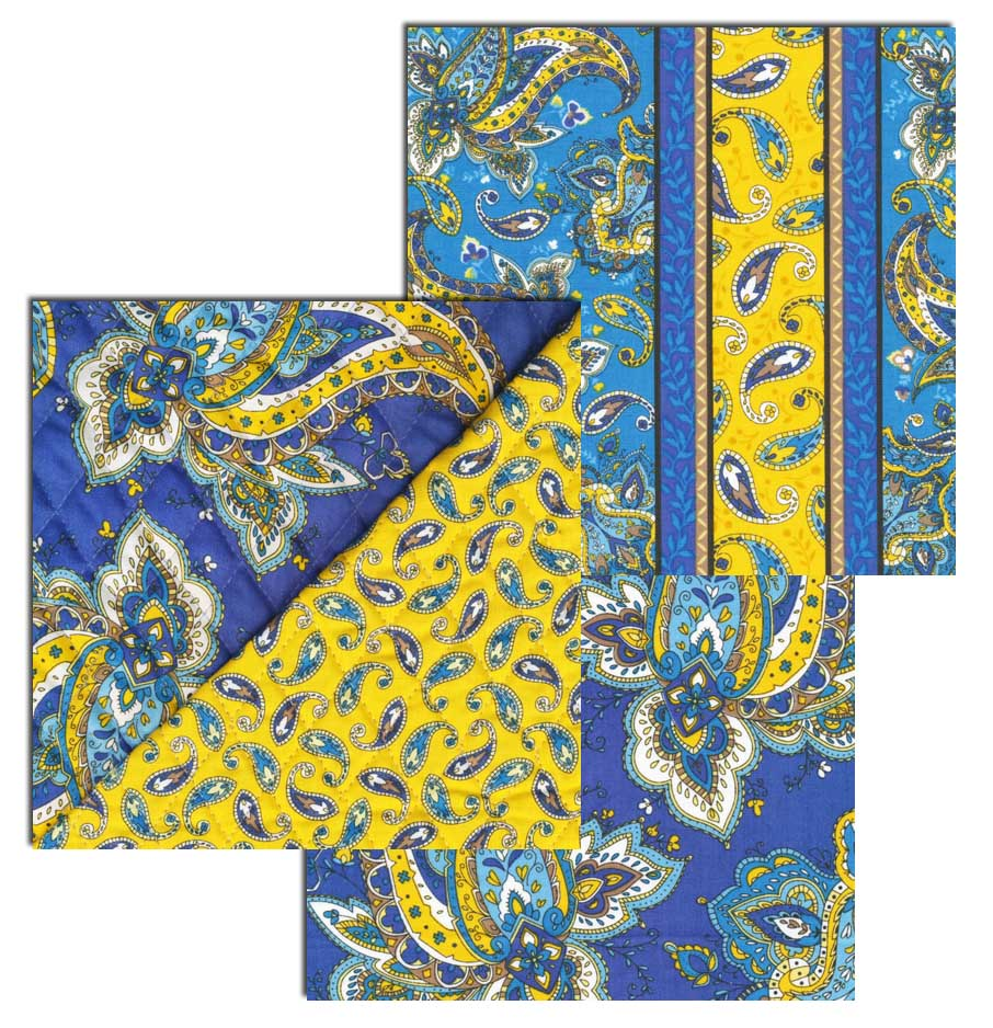Inspired by Fabric: What A Girl Needs : pre quilted fabric patterns - Adamdwight.com