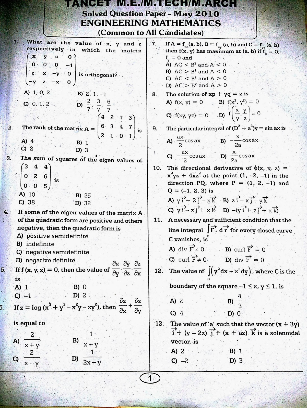 basic mechanical engineering questions and answers pdf