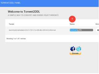 Cara Mengubah Torrent menjadi Direct Link