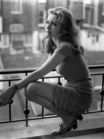Actress julie newmar who played catwoman in the batman tv series 1968