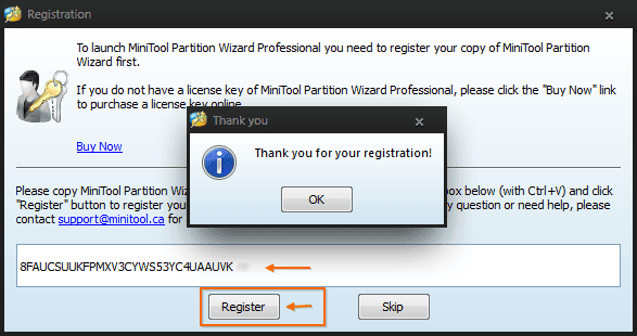 MiniTool Partition Wizard Professional Edition 8.1.1 3