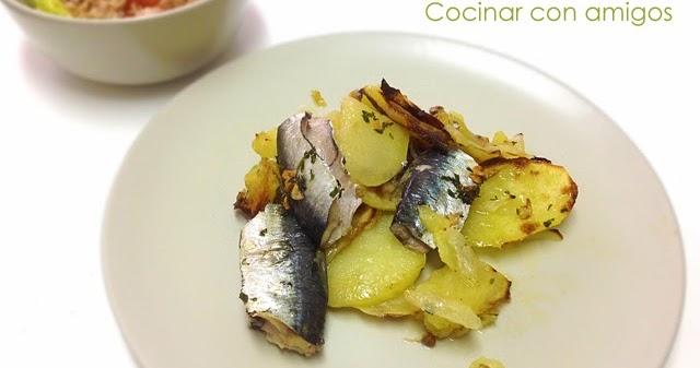 Sardinas al horno sin olor cocinar con amigos - Como cocinar sardinas ...