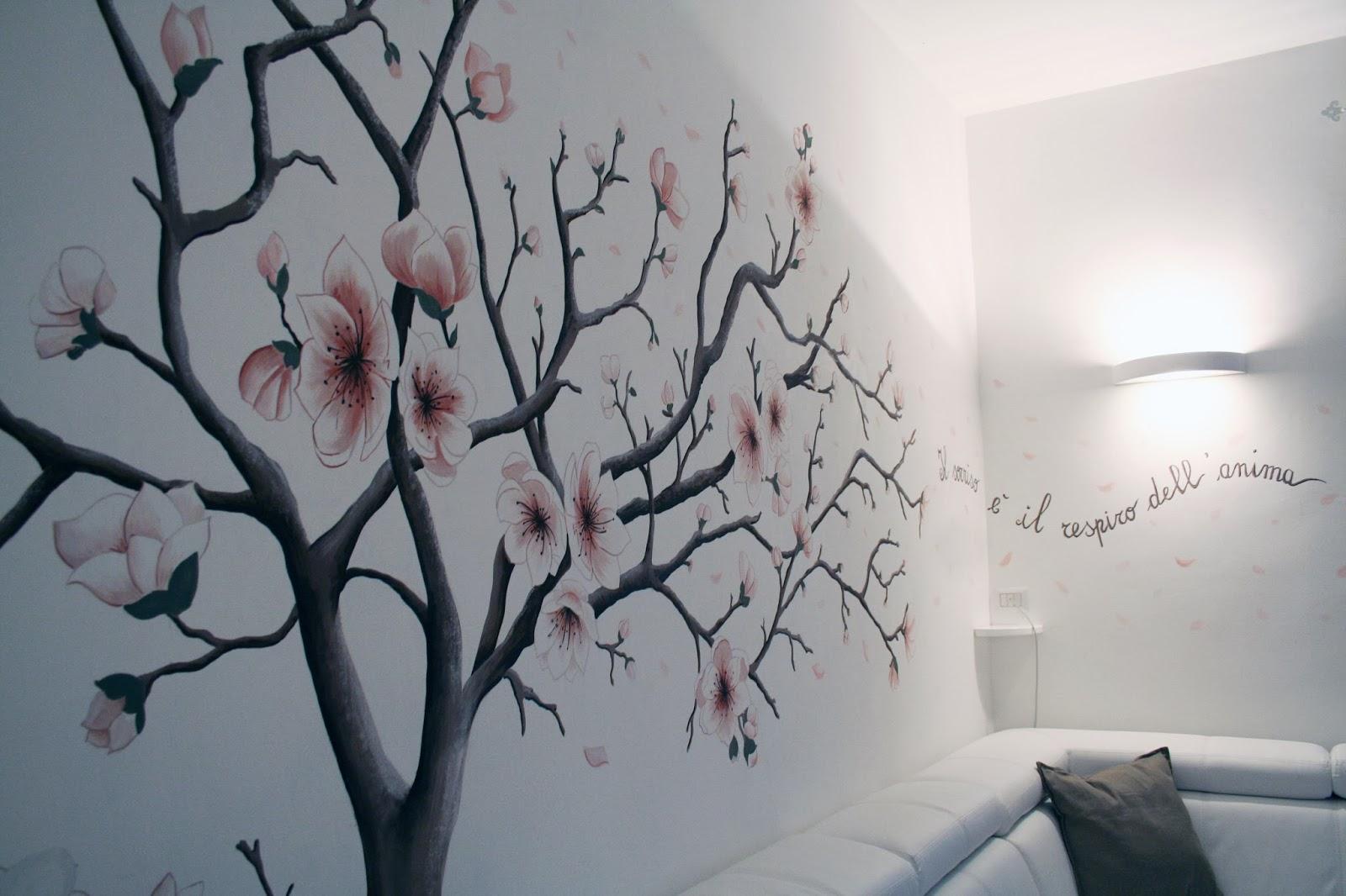 Illustration oil portrait jewelry design un albero in - Albero su parete ...