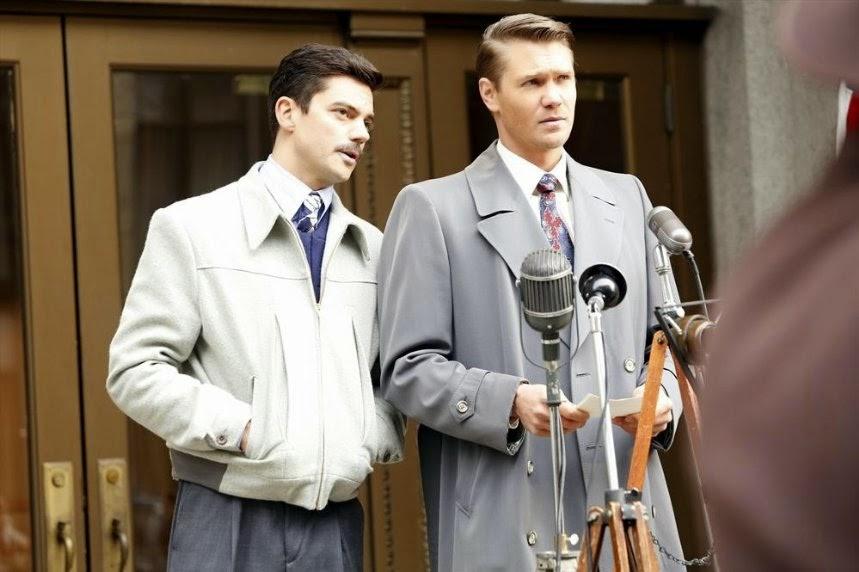Stark y Thompson en la season finale de la serie