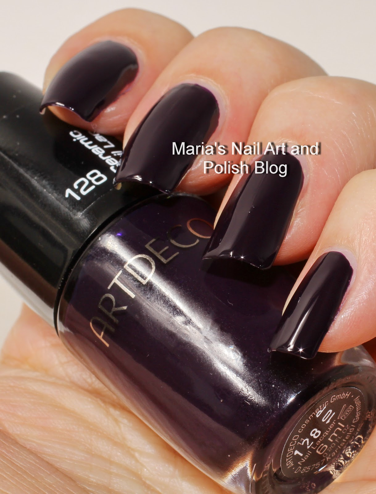 Marias Nail Art and Polish Blog: Artdeco 081 and 128 swatches
