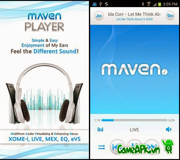 MAVEN Music Player (Pro) v2.37.12 cho Android