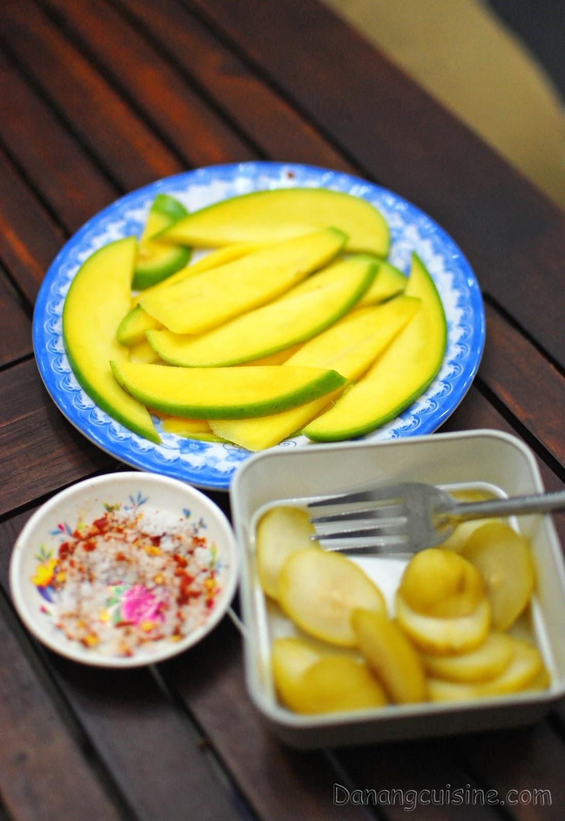 Sour mango and ambarella given for free