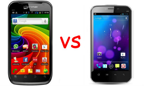 Micromax A110 &amp; Karbonn A18: New Models, Old Rivals