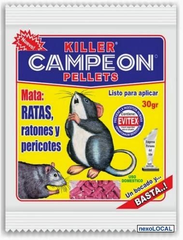 B r e a venenos campe n veneno para ratas - El mejor veneno para ratones ...