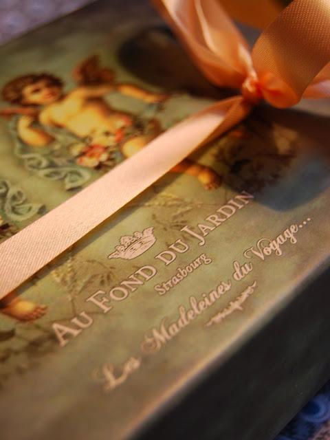 Lotte au banyuls madeleines de voyage - Au fond du jardin strasbourg ...