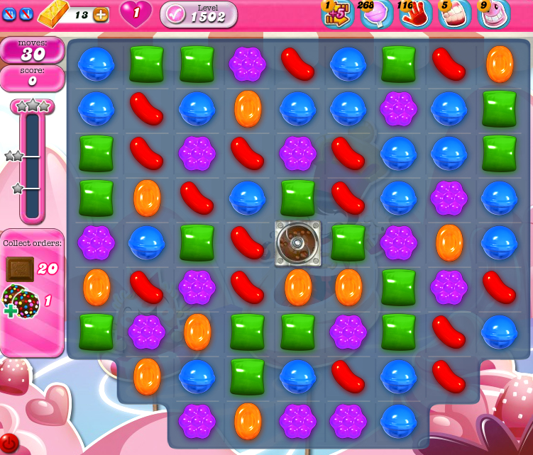 Candy Crush Saga 1502