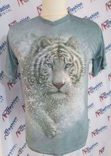 Kaos Harimau 3D