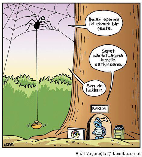 Sinek Bakkal Karikatür
