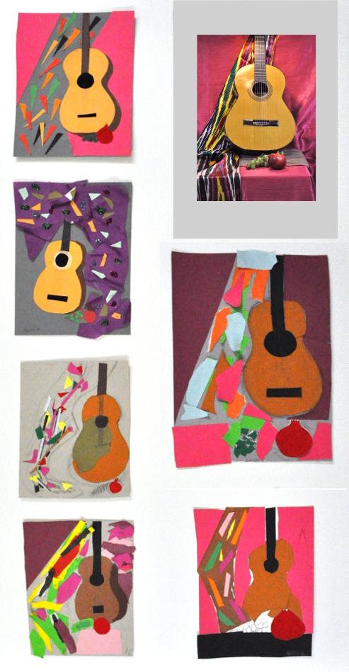 знакомство с гитарой классические
