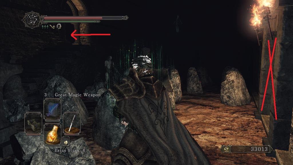 dark souls 2 how to get to undead crypt