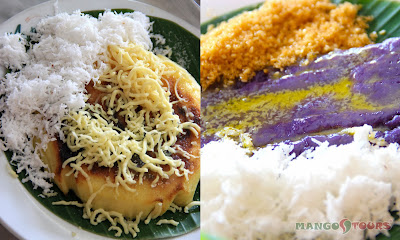 Mango Tours - The Aristocrat Restaurant: Bibingka and Puto Bumbong