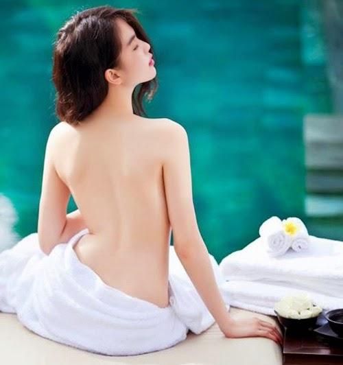 Tắm trắng da với cám gạo an toàn