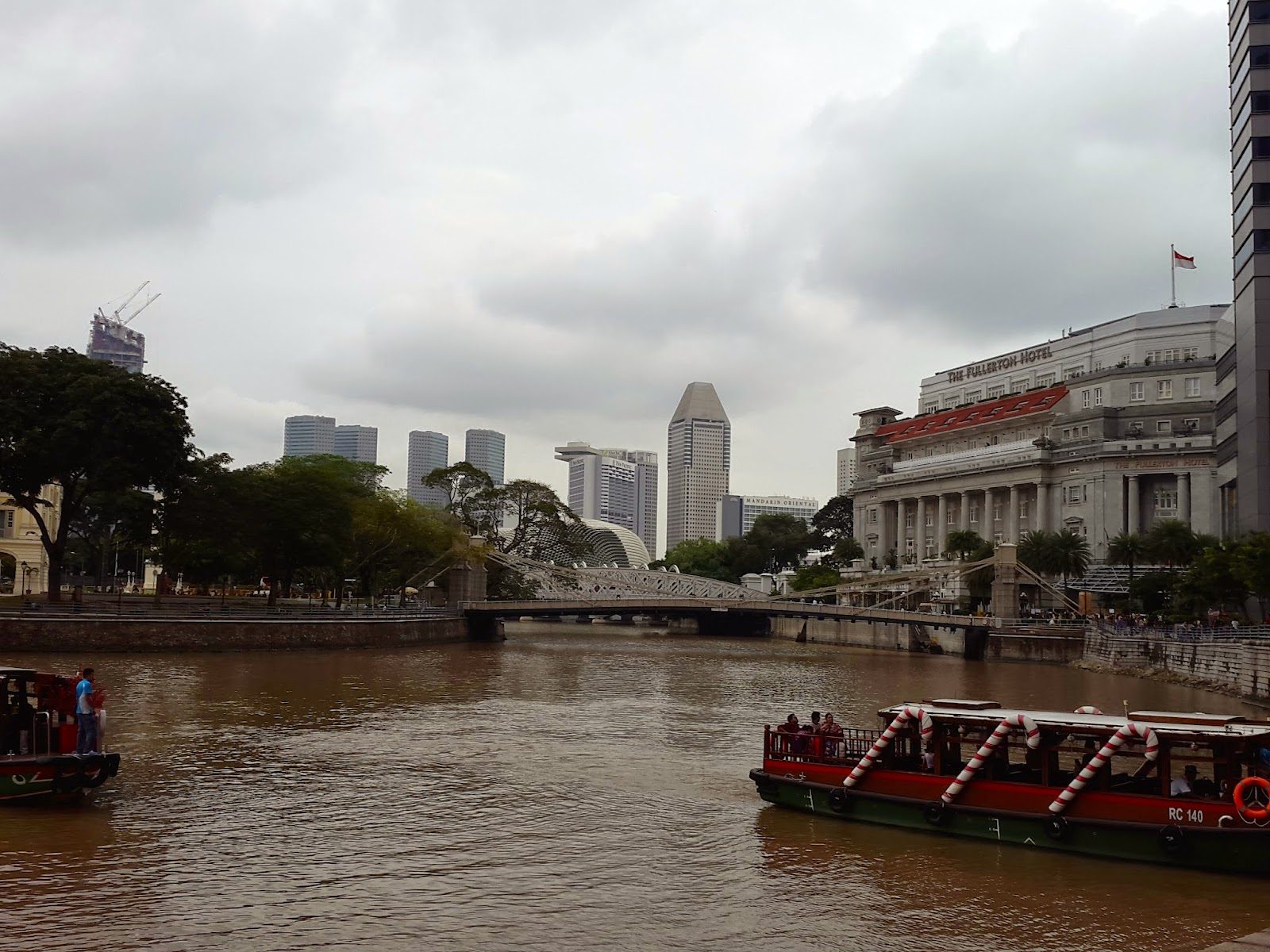 Singapore River Boat Quay Water Taxi