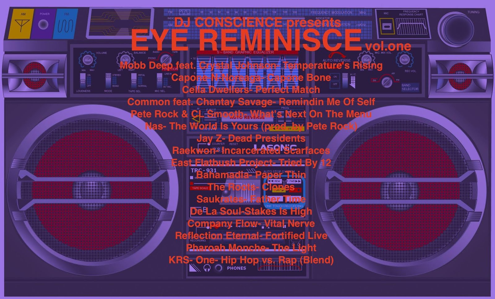 EYE REMINISCE by DJ CONSCIENCE